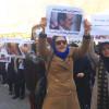 تجمع هواداران محمدعلی طاهری در مقابل زندان اوین و کانون وکلای دادگستری تهران