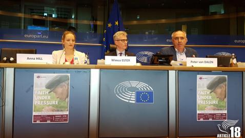 کنفرانس پارلمان اروپا در مورد «مسیحیان در جفا»