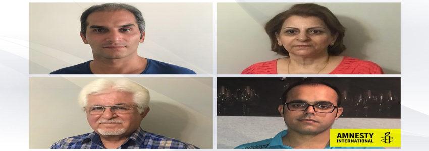 Hadi Asgari, Shamiram Issavi, Victor Bet-Tamraz and Amin Afshar-Naderi