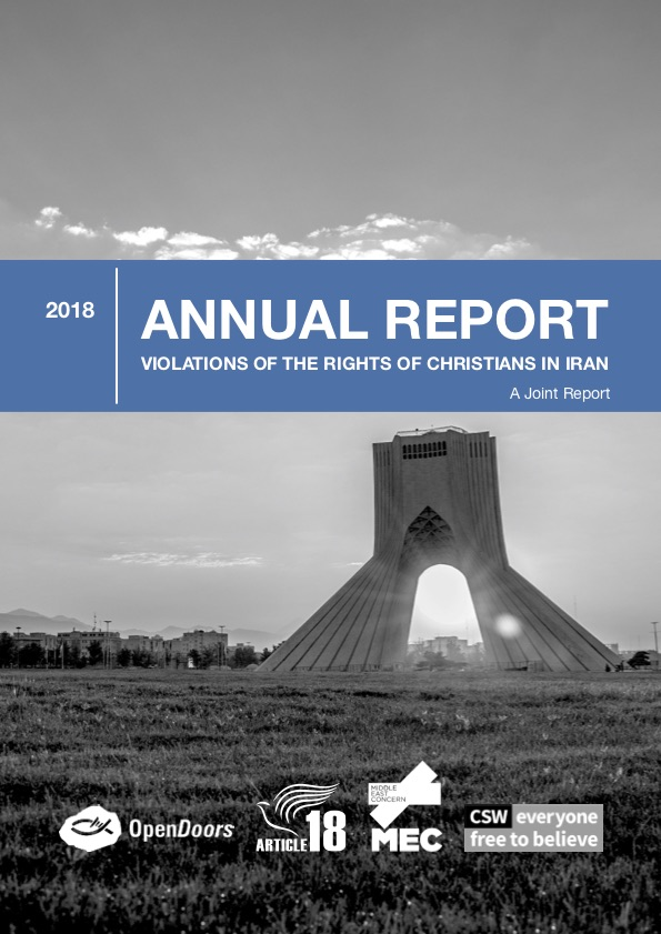 Report: Violations of the rights of Christians in Iran in 2018