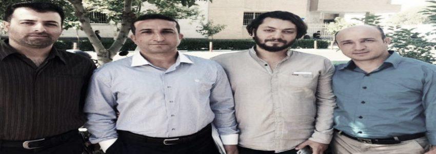 Saheb Fadaee, Yousef Nadarkhani, Mohammad Ali Mossayebzadeh and Mohammad Reza Omidi