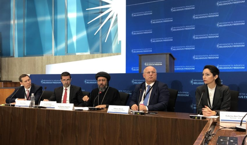 'Terrorists, Zionists, spies: this is how Christians are referred to in Iran' – Dabrina Bet-Tamraz