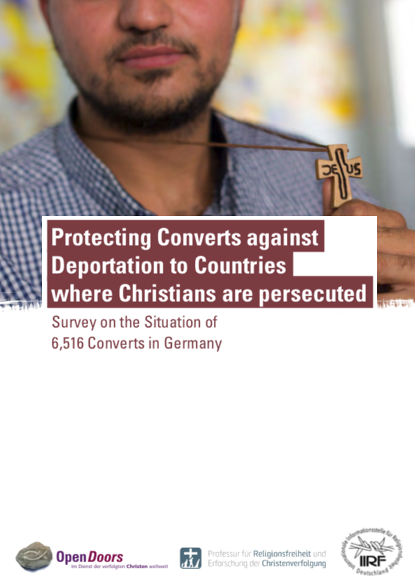 Protecting converts against deportation to countries where Christians are persecuted