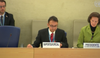 UN rapporteur calls for release of all prisoners of conscience