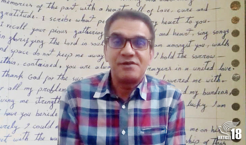 Imprisoned Iranian Christian says people praying for him are 'sharing my burdens'