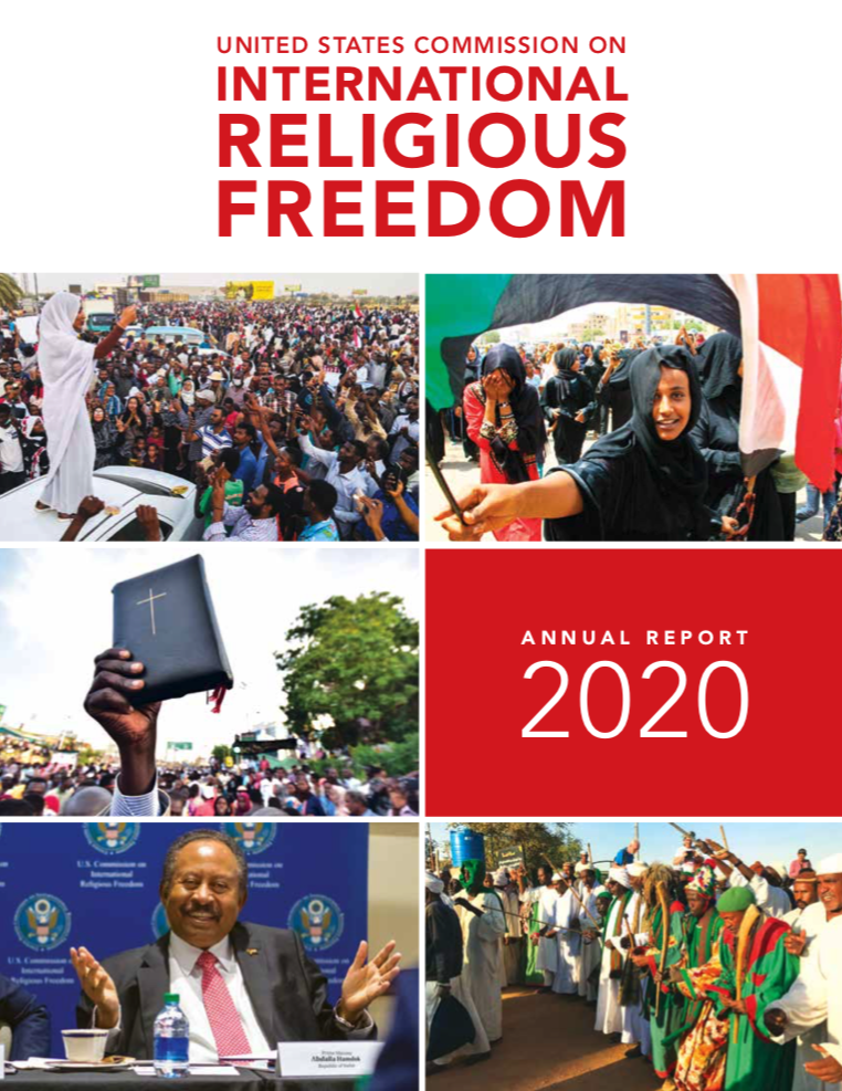 US Commission on International Religious Freedom annual report 2020