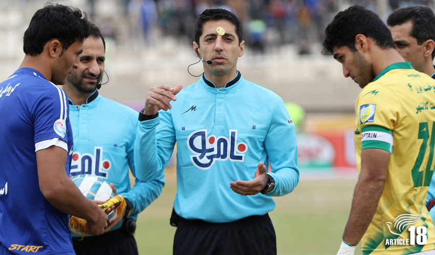 Iranian referee asked if he'd converted to Christianity after officiating at 'Armenian Olympics'