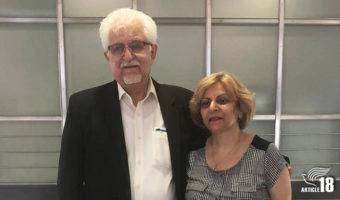 Iranian-Assyrian Christian couple lose appeals against combined 15 years in prison