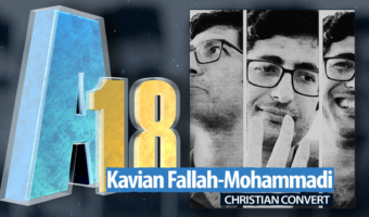 Christian convert Kavian Fallah-Mohammadi on his arrest, 10-year sentence and why he left Iran