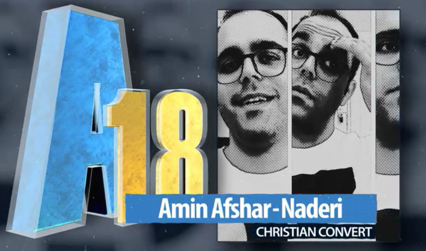 Amin Afshar-Naderi on his 15-year prison sentence and why he left Iran