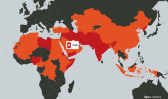 Iran ranks eighth in global persecution of Christians