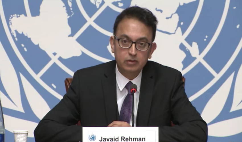 UN rapporteur tells Iran to 'release all imprisoned for exercising right to religious freedom'