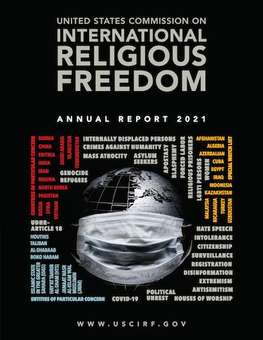 US Commission on International Religious Freedom annual report 2021